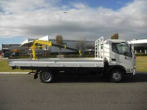 Toyota Dyna 2 tonne traytop with Crane .Drive on Car liscence. Welshpool Canning Area Preview
