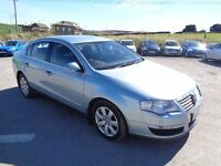 2007 VOLKSWAGEN PASSAT 2.0 TDI 140 BHP 4 DOOR SALOON BLUE 1 OWNER FROM NEW