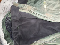 Giant thermal lined suit in good condition,