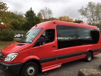 17 seater minibus hire with driver for any occasion call 07812701482