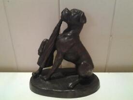 "'HEREDITIES' COLD-CAST BRONZE FIGURE OF A ""BOXER"" (BOXED)"