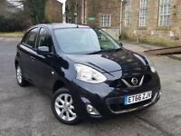 2017 Nissan Micra 1.2 Acenta 5dr in Black with only 10326 miles