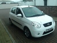 2010 60 Kia Picanto 1.1 ( 64bhp ) Domino 5DR **MOT Until JULY 2018 1 OWNER**