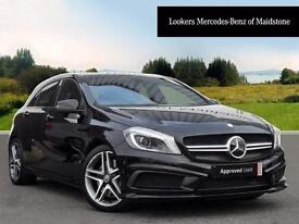 Mercedes-Benz A Class A45 AMG 4MATIC (black) 2014-06-30