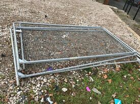 Heras fencing for sale with feet and clips £100 must be collected today