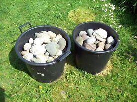 Garden pebbles/stones