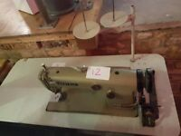 Antique Brother Sewing machine and table