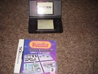 NINTENDO DS LITE BLACK WITH GAME