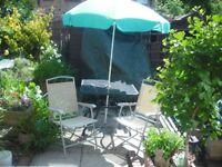 patio set 2 chairs