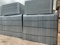 New Heras Site Security Fencing Panels