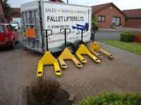 Ex Rental Pallet trucks