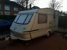 Elddis ex300 caravan