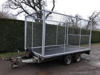 Ifor Williams 3.5 tonne waste clearance trailer