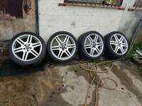 Mercedes amg wheels