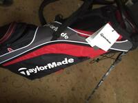 Taylor made carry golf bag with stand