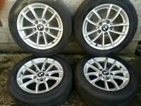 16 inch 5x120 genuine BMW alloy wheels