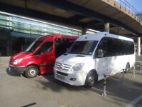 Christmas New year 0ffers 8 To 35 seater executive coach with driver for hire call Gill 07812701482