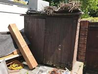 Used shed in decent condition