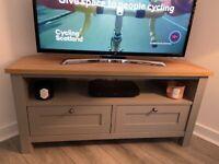 NEXT Grey/oak effect Malvern livingroom furniture X3 items