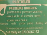 Presure washing