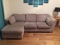 "Next ""L"" shaped sofa"
