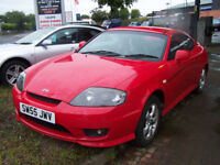 STUNNING 2006 LOW MILAGE 1.6 COUPE GLEAMING RED GOOD SPEC NEW MOT NOV 2018 SERVICED £1450