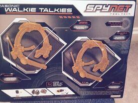 Spy Net Walkie Talkie Set.