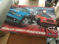 Scalextric track and cars