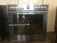 Stoves dual fuel gas range cooker 900DFT 90cm FSD double oven 3 months warranty free local delivery!