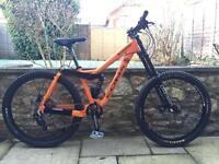 Kona stinky downhill mountain bike will post