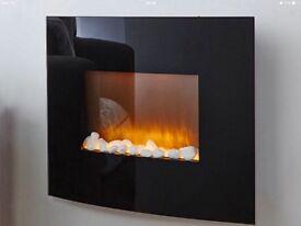 Beautiful flame effect fire