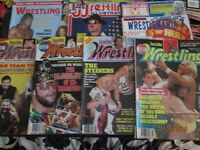 WRESTLING MAGAZINES X 7 FROM 1991 have other wrestling magazines for sale