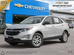2019 Chevrolet Equinox LS AWD / HEATED FRONT SEATS / REAR VIS...