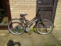 Ladies Raleigh Alana Bike. Hardly Used
