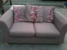 Beautiful purple 2 seater settee