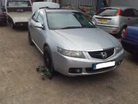 2004 Honda Accord MK7 2.2 i-CDTI Saloon Blue BREAKING FOR PARTS SPARES