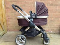 iCandy Peach Black Jack Push Chair and Maxi cosi car seats & Lots of Extras - OPEN TO OFFERS