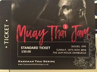 Muay Thai Jam 5 Sunday 13 November - 2 tickets for £40