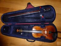 Stentor Student II STN1500 Violin 3/4 size + Case and Bow (Milngavie G62)