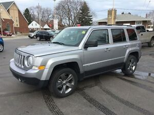 2015 JEEP PATRIOT HIGH ALTITUDE 4X4 - SUNROOF, LEATHER HEATED SE