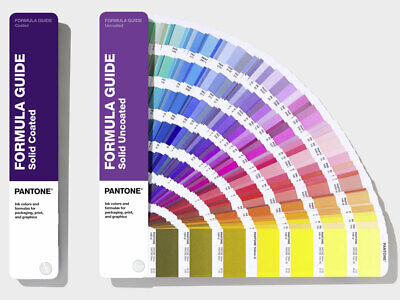 Pantone Formula Guide Solid Coated Uncoated. 294 New Colours. Latest Version