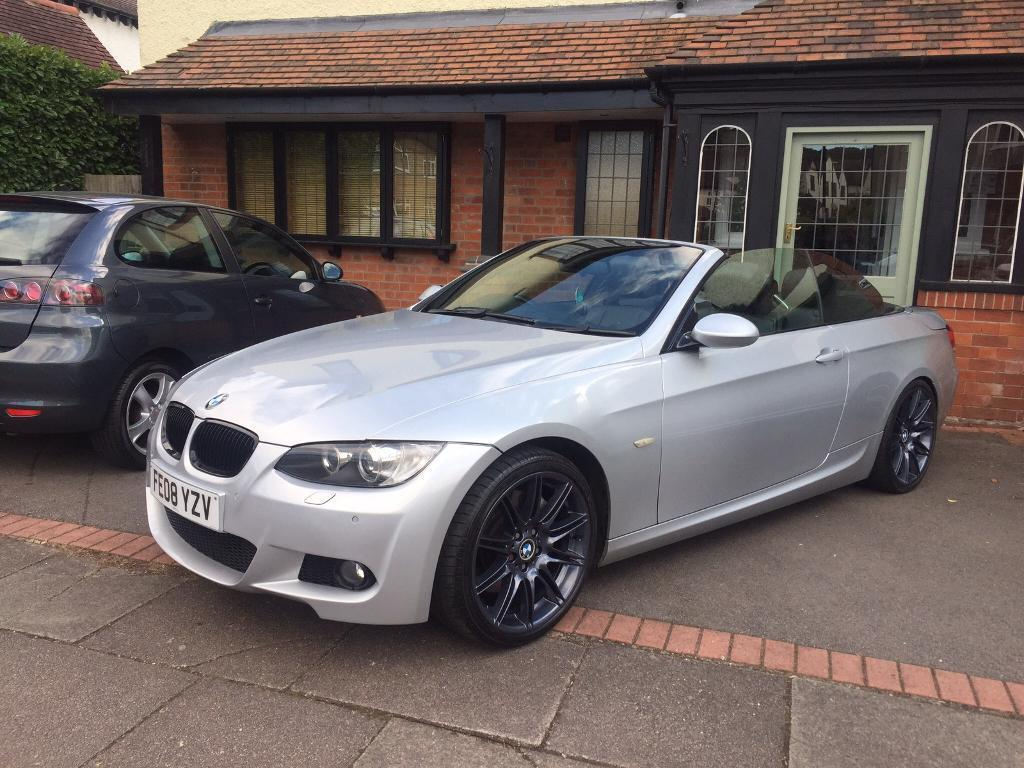 Bmw 335i Convertible Auto 89k History In Coventry West