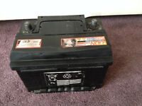 CAR BATTERY - WORKING, USED