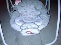 bright starts Comfort Harmony swinging baby chair