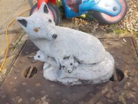 Stone Fox for the Garden - Collection PE27 5JU asap - Selling cheap for a quick sale