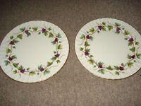 bacchanal royal worcester plates