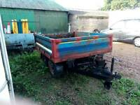 2 ton tipping trailer