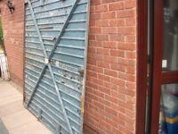 Free Garage door over and up metal
