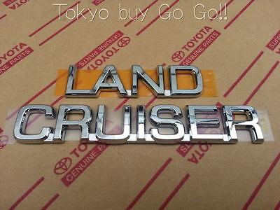 Toyota Land Cruiser Prado150 LC150 FJ150 Emblem Badge Genuine OEM Parts