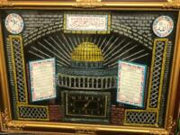 Clock with Arabic Writing